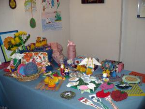 Выставка поделок учащихся воскресной школы «Зернышко» храма Преображения Господня в Люберцах