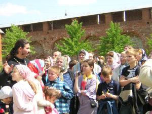 Воскресная школа «Зернышко» церкви Преображения Господня в Люберцах в Зарайске